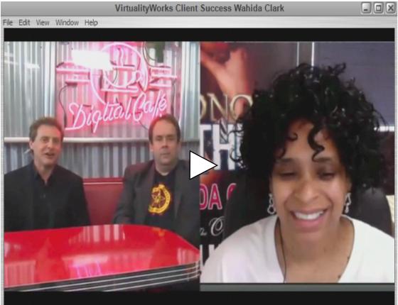 virtualityworks and wahida success webcast image